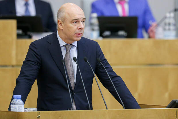 Силуанов заявил о дефиците бюджета в 2020 г около 4% ВВП