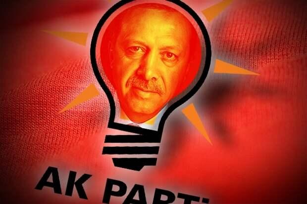 Эрдоган в лампочке