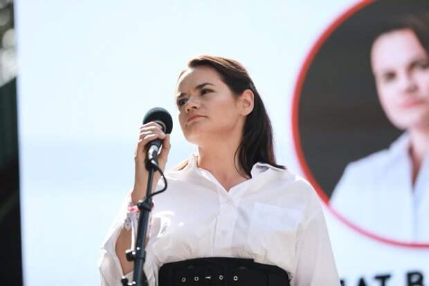 Тихановская рассказала, что не будет баллотироваться в случае новых выборов в Белоруссии