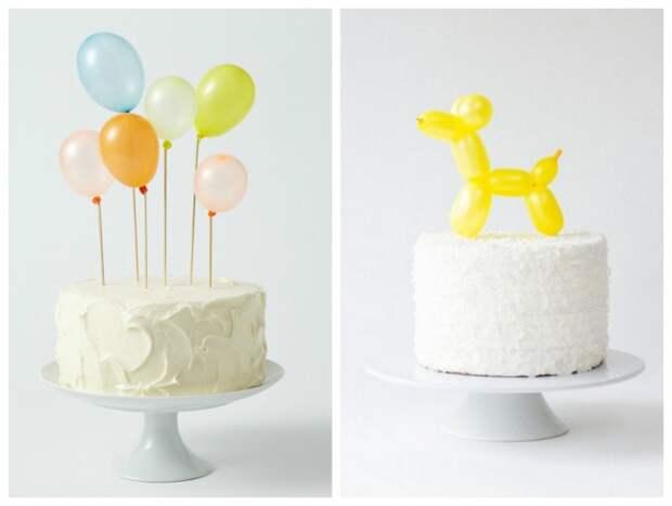 Шарики и торты