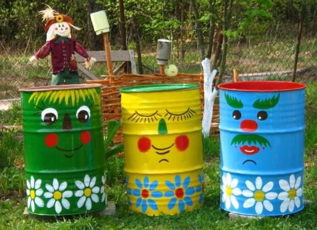 Идеи по украшению садового участка