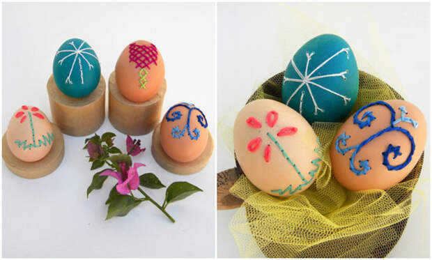 Как украсить яйца на Пасху, чтобы было «не как у всех» - 28 идей - 22