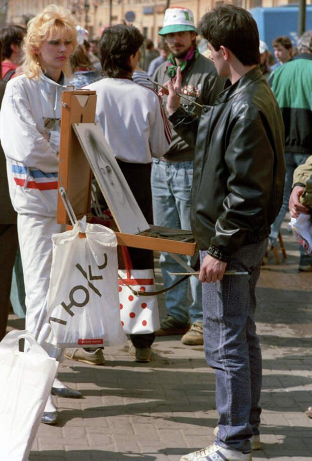 Уличная мода 90-х