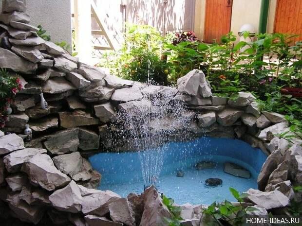 фонтан прудик