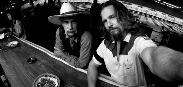 Джефф Бриджес и Сэм Эллиотт, актёры, 1997 звезды, люди, фото