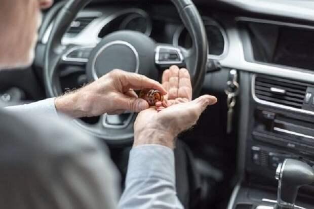 В Крыму пенсионер-наркоман лишился водительских прав