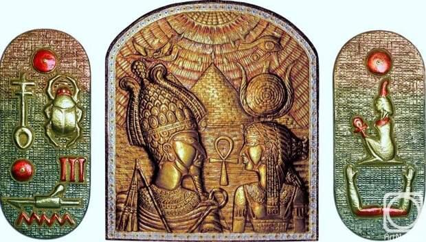 """Морозов Виктор. Триптих """"Древний Египет"""""""