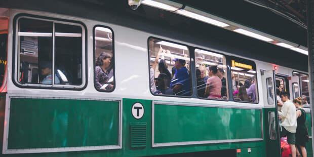 В Бостоне столкнулись два поезда метро