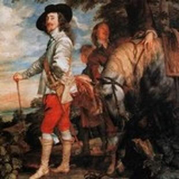Карл I на охоте