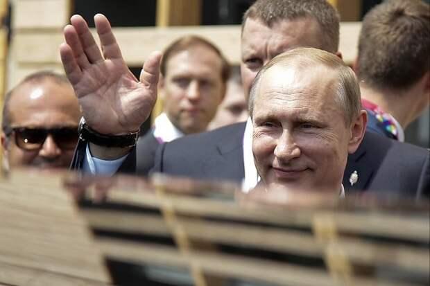 Президент России Владимир Путин. Фото: Олеся Курпяева / РГ