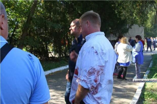 Ход кровавого теракта в Керчи