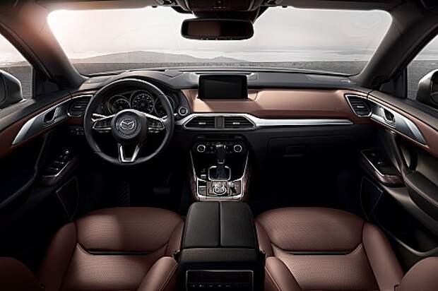 Грация наддува: Mazda представила новый кроссовер CX-9