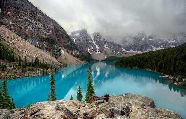 Озеро Морейн (Канада) (2)