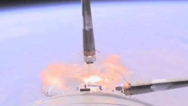 Видео взрыва ракеты «Союз» с космонавтами (ВИДЕО)