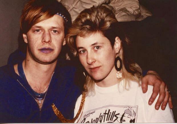 Джоанна Стингрей опубликовала неизвестные фото Цоя и Гребенщикова