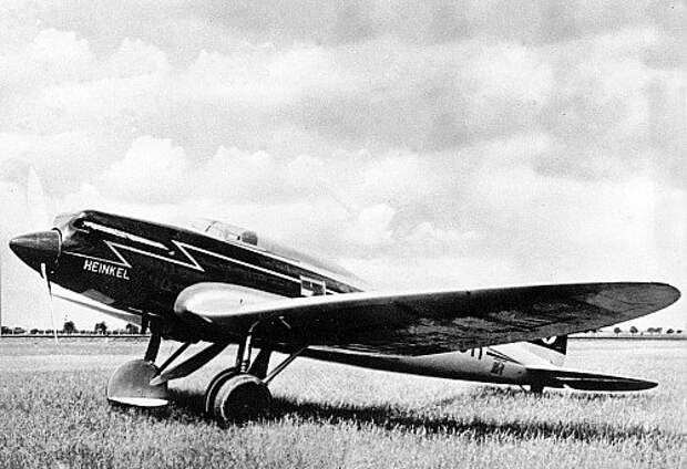 Heinkel He‑70 1935 года.