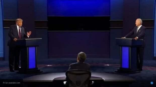 Трамп и Байден открыли дебаты взаимными оскорблениями