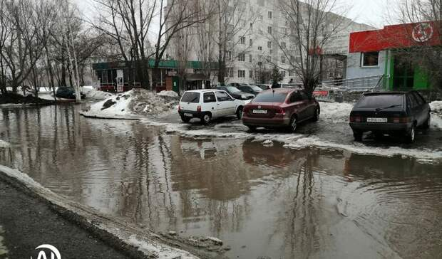Венеция вОренбурге. Горожане возмущены потопом наулицах