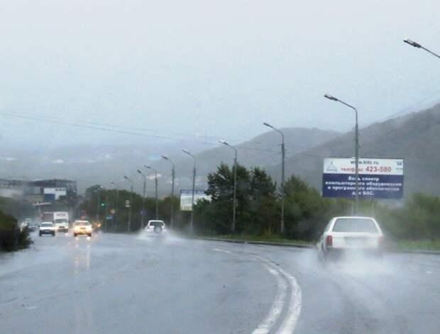 4. Петропавловск-Камчатский — 1166 мм. Города России, дождь, погода, статистика