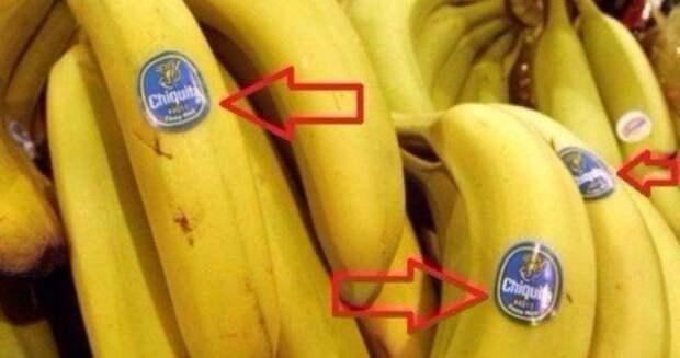 Всё, что нужно знать о наклейках на бананах