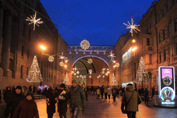Петербург готовится к праздникам
