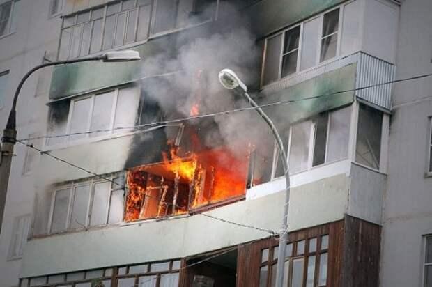 В Сочи пожар унес жизни двух человек