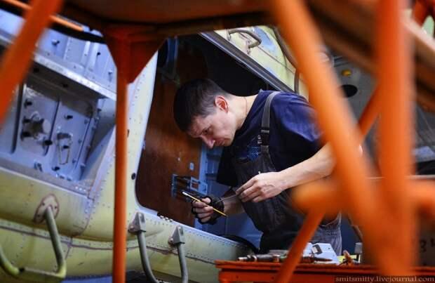 Производство вертолетов Ка-52