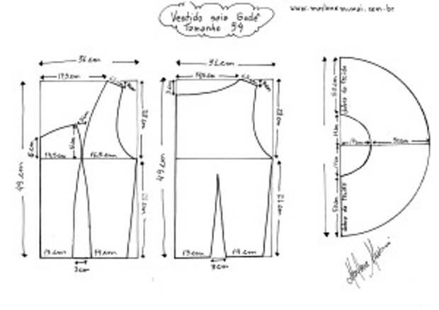 Годе юбка платье размер формы 54.