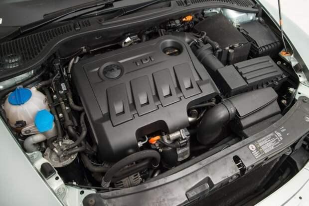 skoda octavia двигатель