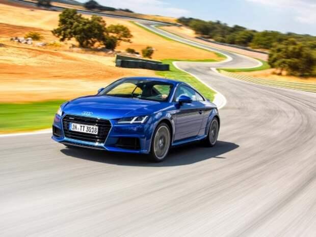 Тест нового Audi TT: экран собирает друзей