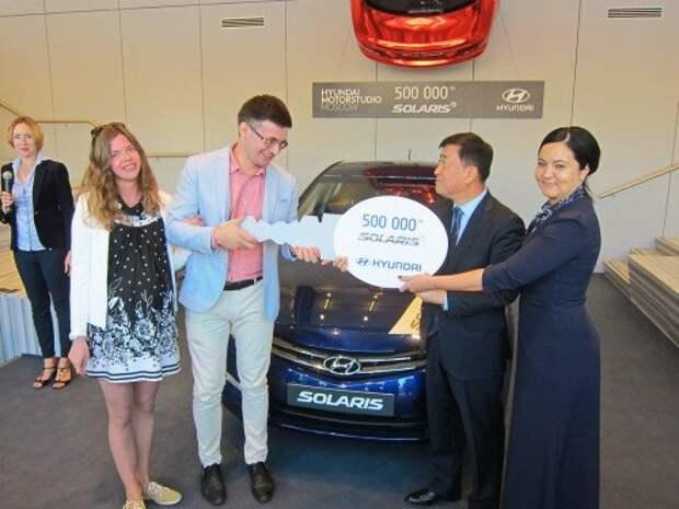 Hyundai Solaris установил очередной рекорд