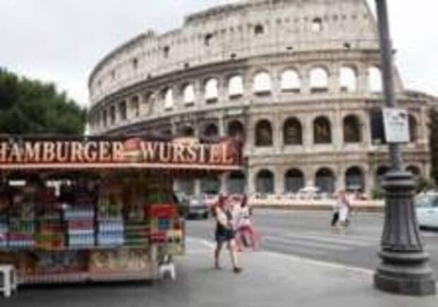 В Риме уберут передвижные кафе