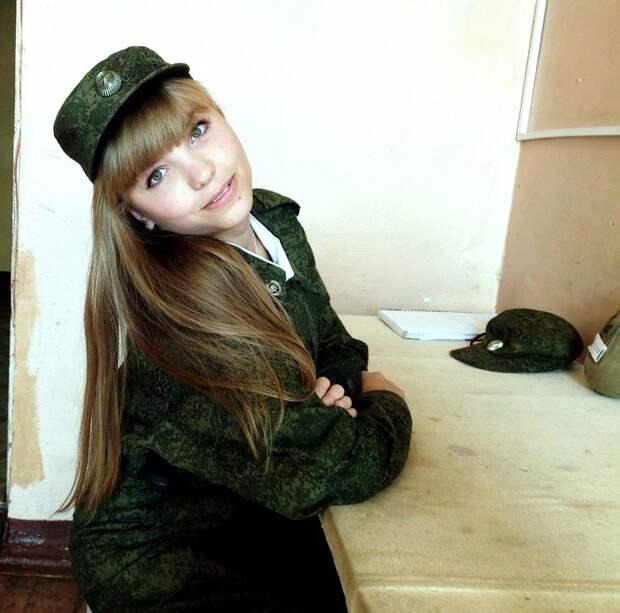 От тайги до британских морей ... : Лица девушек из Российской армии (34)