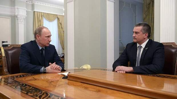 Сергей Аксёнов поблагодарил за доверие Владимира Путина