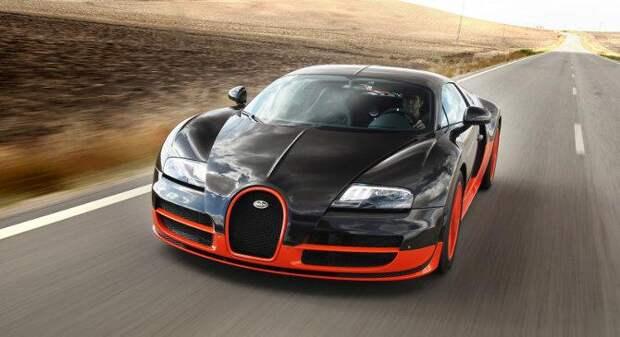 Самая дорогая машина в мире 2015, Bugatti Veyron Super Sports