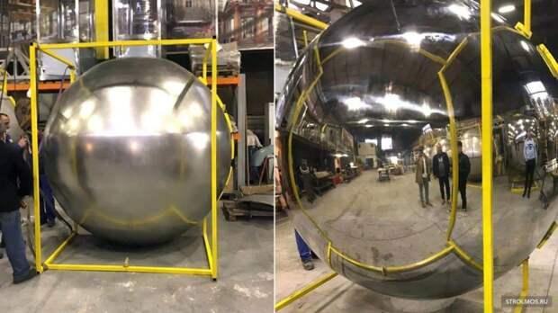 В сентябре на станции БКЛ «Марьина Роща» установят металлические шары