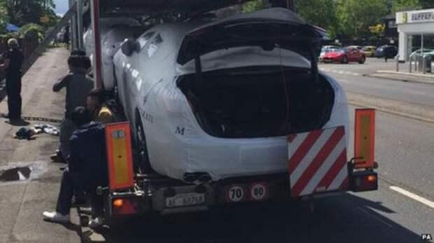 Нелегалы прятались в багажниках Maserati