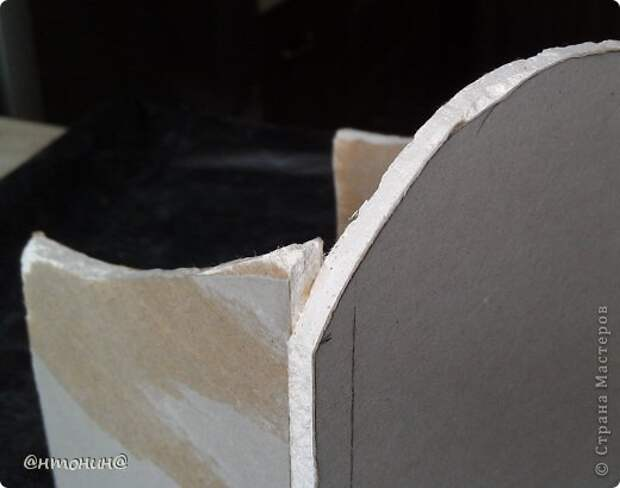 Мастер-класс Поделка изделие Декупаж Комодик из гипсокартона Мастер класс фото 42