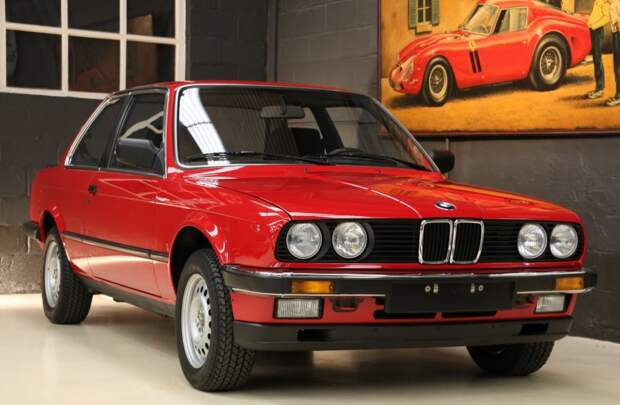 В Бельгии нашли новую BMW 1985 года bmw, авто, капсула времени, найдено на ebay, олдтаймер, продажа авто, ретро авто