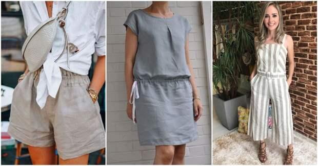 Удобная одежда из льна: свежий и комфортный вариант на лето