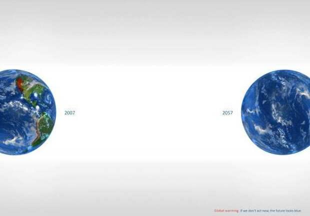Самые сильные социальные рекламы о проблеме изменения климата
