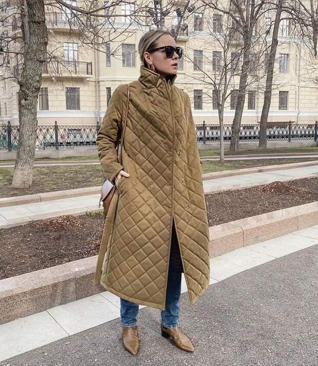 Стёганое пальто. Что нужно знать о самой модной верхней одежде сезона
