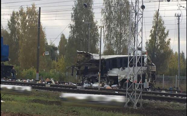 Трагедия под Владимиром: поезд тормозил почти 750 метров
