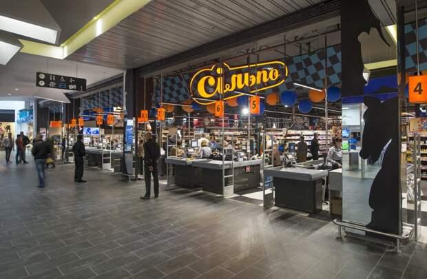 Магазин «Ciльпо» оформили в стиле «Алисы в стране чудес»
