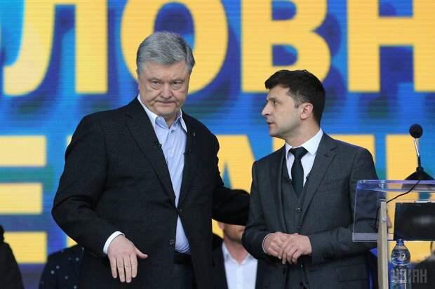 Порошенко крепко приложил новоиспеченного президента Зеленского