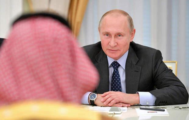 Путин обсудил с наследным принцем Саудовской Аравии нефть и коронавирус