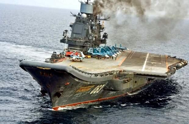 Какой корабль придет на смену «Адмиралу Кузнецову»