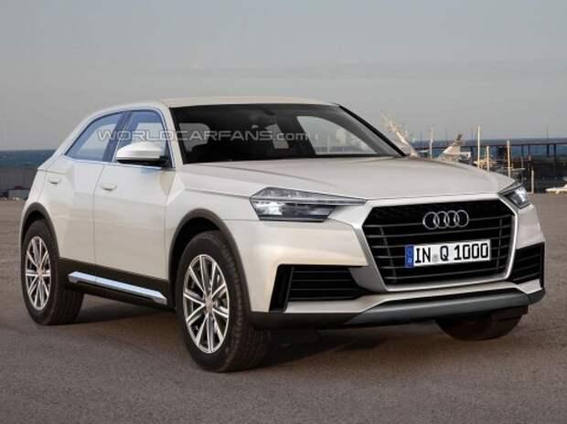 Всплыли детали о новом кроссовере Audi Q1