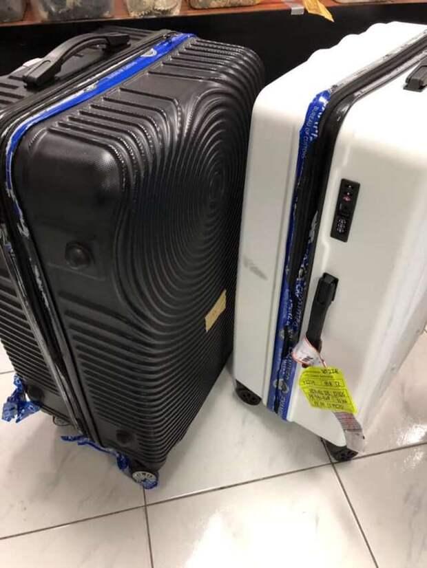 два чемодана
