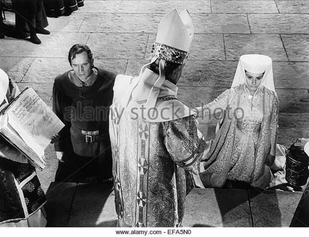 Софи Лорен на съемках фильма «Эль Сид».1961 год.
